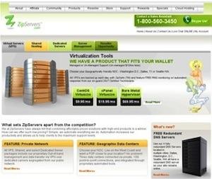 ZipServers hosting